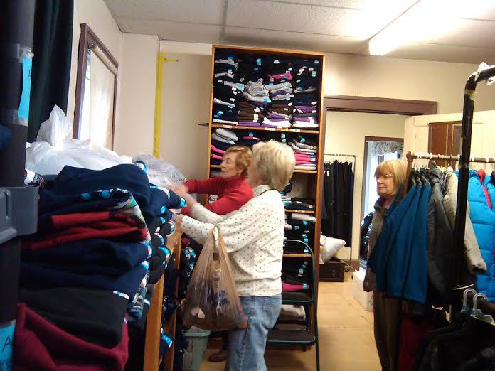 Lexington Woman's Club Clothing Center Boys' Coat Room