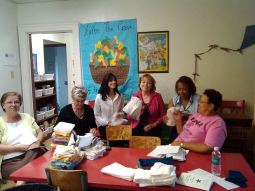 Members at a work session