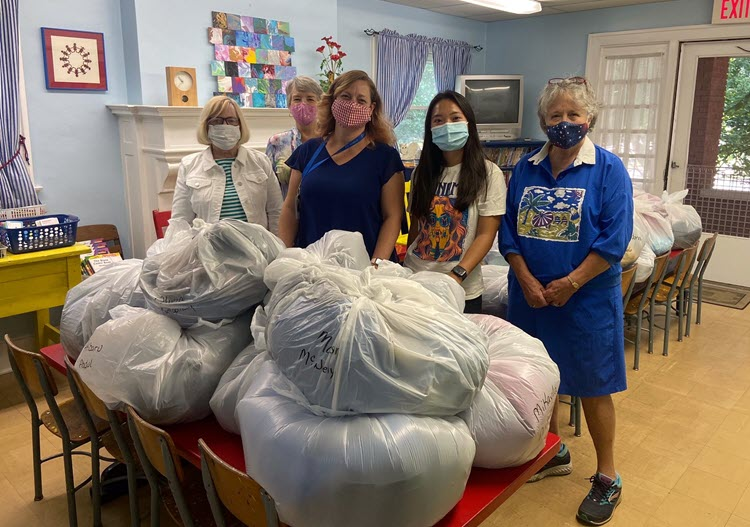 The Lexington Woman's Club Clothing Center provides children in our community with clothing.